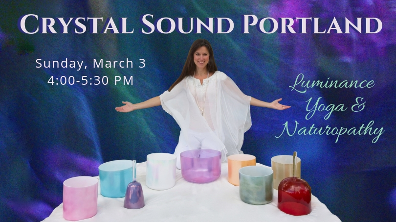 Crystal Tones Singing Bowls and Vocal Toning with Christine Laria